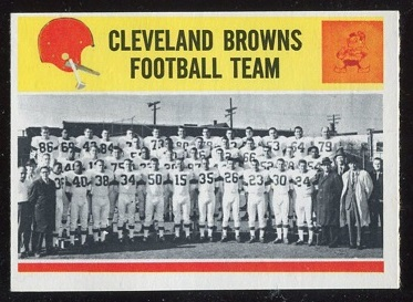 1964 Philadelphia #41 - Cleveland Browns Team - nm+