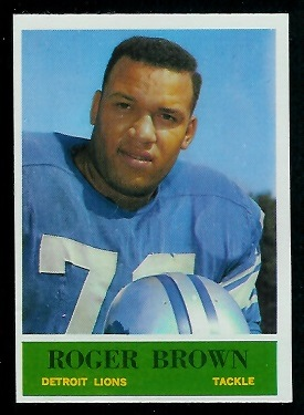 1964 Philadelphia #58 - Roger Brown - nm-mt oc