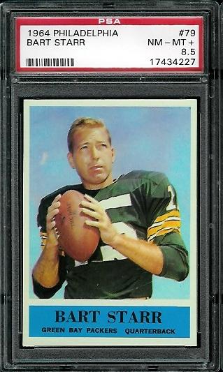 1964 Philadelphia #79 - Bart Starr - PSA 8.5