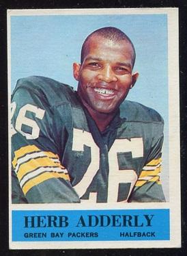 1964 Philadelphia #71 - Herb Adderley - ex