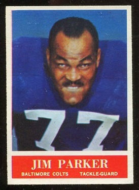 1964 Philadelphia #8 - Jim Parker - nm
