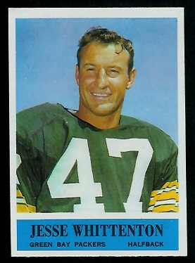 1964 Philadelphia #81 - Jesse Whittenton - nm