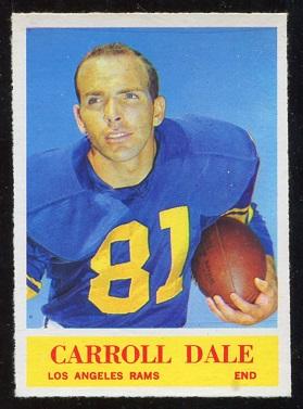 1964 Philadelphia #88 - Carroll Dale - nm+
