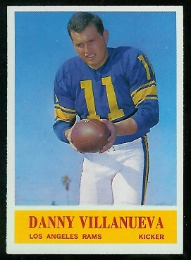1964 Philadelphia #96 - Danny Villanueva - nm