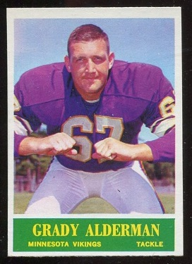 1964 Philadelphia #99 - Grady Alderman - nm