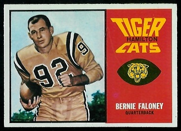 1964 Topps CFL #30 - Bernie Faloney - nm