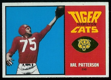 1964 Topps CFL #31 - Hal Patterson - nm