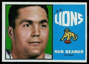 1964 Topps CFL #4 - Nub Beamer - nm