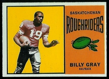 1964 Topps CFL #64 - Billy Gray - nm