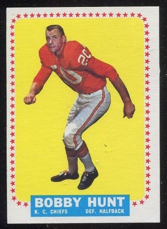 1964 Topps #101 - Bobby Hunt - exmt