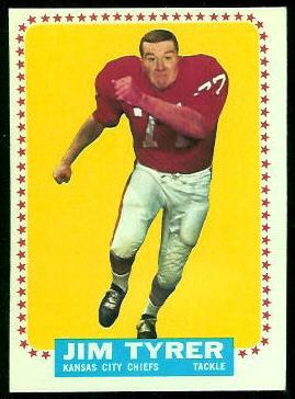 1964 Topps #108 - Jim Tyrer - nm