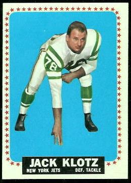 1964 Topps #116 - Jack Klotz - nm