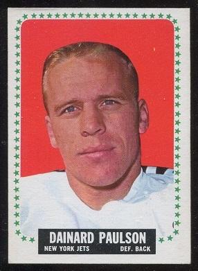 1964 Topps #122 - Dainard Paulson - exmt