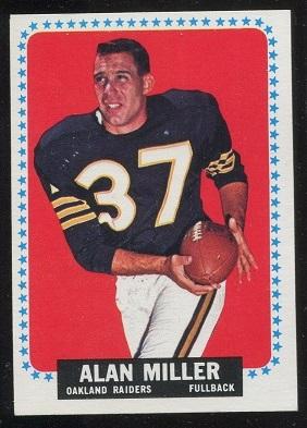1964 Topps #146 - Alan Miller - exmt