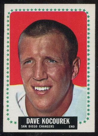 1964 Topps #162 - Dave Kocourek - nm