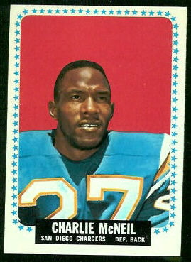 1964 Topps #166 - Charles McNeil - nm