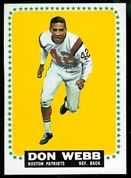 1964 Topps #20 - Don Webb - nm