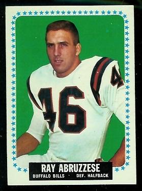 1964 Topps #22 - Ray Abruzzese - nm