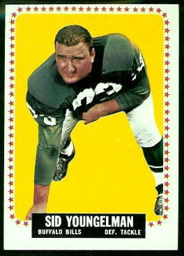 1964 Topps #42 - Sid Youngelman - exmt