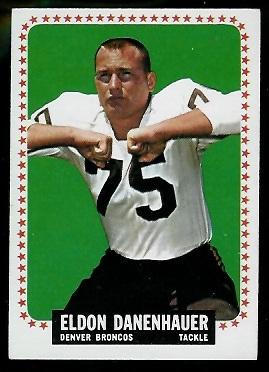 1964 Topps #44 - Eldon Danenhauer - exmt