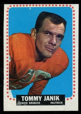1964 Topps #49 - Tom Janik - ex