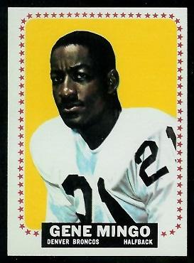 1964 Topps #54 - Gene Mingo - nm