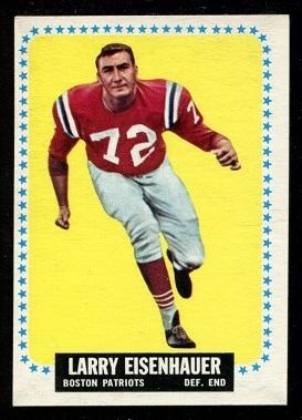 1964 Topps #8 - Larry Eisenhauer - nm