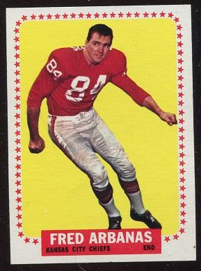 1964 Topps #89 - Fred Arbanas - ex