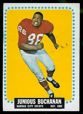 1964 Topps #92 - Buck Buchanan - vg-ex