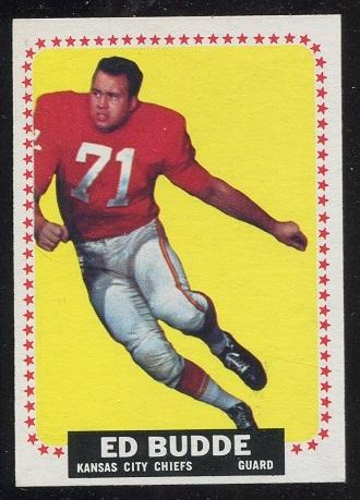 1964 Topps #93 - Ed Budde - nm