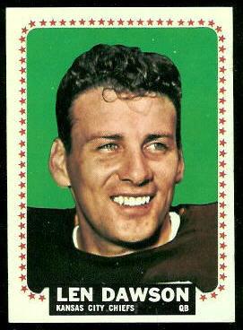 1964 Topps #96 - Len Dawson - ex