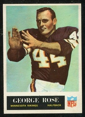 1965 Philadelphia #109 - George Rose - nm