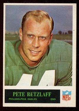 1965 Philadelphia #137 - Pete Retzlaff - exmt