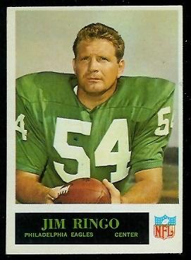 1965 Philadelphia #138 - Jim Ringo - exmt