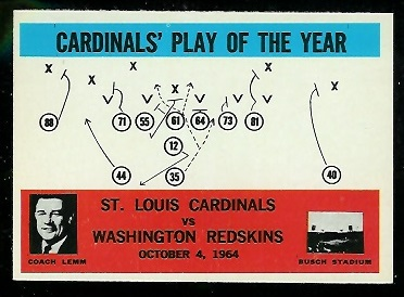 1965 Philadelphia #168 - Cardinals Play of the Year - nm