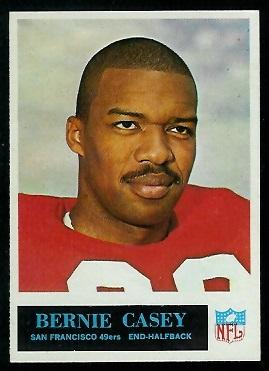 1965 Philadelphia #172 - Bernie Casey - nm