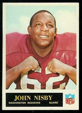 1965 Philadelphia #192 - John Nisby - nm+