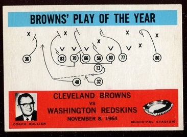 1965 Philadelphia #42 - Browns Play of the Year - nm