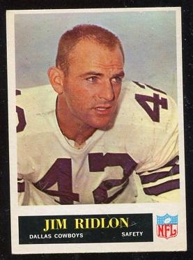 1965 Philadelphia #54 - Jim Ridlon - exmt