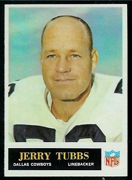 1965 Philadelphia #55 - Jerry Tubbs - nm