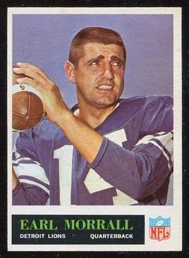1965 Philadelphia #65 - Earl Morrall - nm