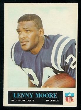 1965 Philadelphia #8 - Lenny Moore - exmt
