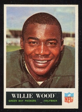 1965 Philadelphia #83 - Willie Wood - exmt