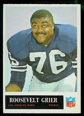 1965 Philadelphia #88 - Roosevelt Grier - nm