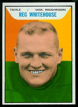 1965 Topps CFL #101 - Reg Whitehouse - nm+