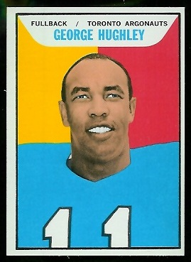 1965 Topps CFL #106 - George Hughley - nm