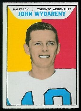 1965 Topps CFL #117 - John Wydareny - nm