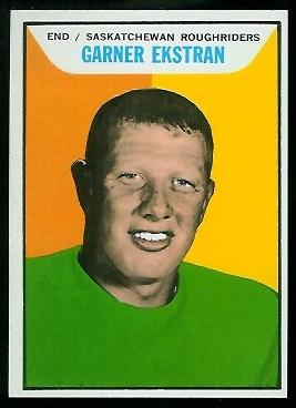 1965 Topps CFL #93 - Garner Ekstran - nm