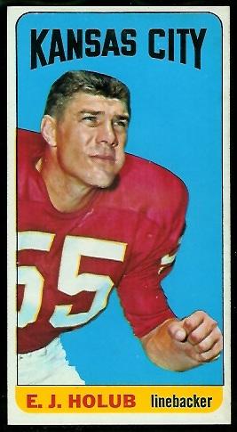 1965 Topps #103 - E.J. Holub - nm
