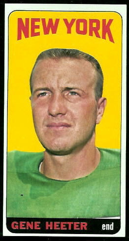 1965 Topps #115 - Gene Heeter - nm oc